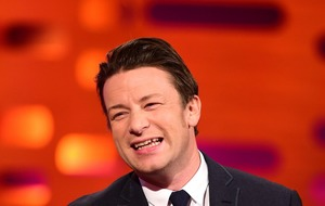 Jamie Oliver's children steal his phone to film adorable Happy Birthday message