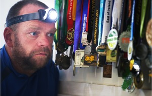 Tunnel vision: Co Down ultra-marathon man on track for 200-mile run in dark