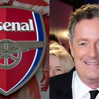 An online debate has seen Arsenal's badge vanish entirely