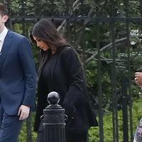 Kim Kardashian West arrives at White House to discuss prison reform