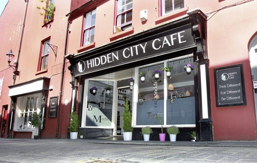 Eating Out Music Ethos Food Derrys Hidden City Cafe Is