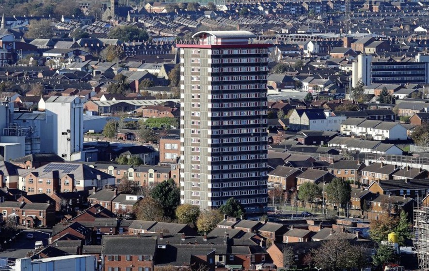 Divis Tower In West Belfast Is One Of 33 Two Blocks That Will Be Examined During The Consultation Picture By Mal Mccann