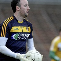 Time Out with Antrim  goalkeeper Chris Kerr
