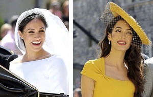 Sleb Safari: Amal Clooney and Meghan Markle are BFFs