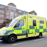 Man taken to hospital after tractor leaves road in Co Down
