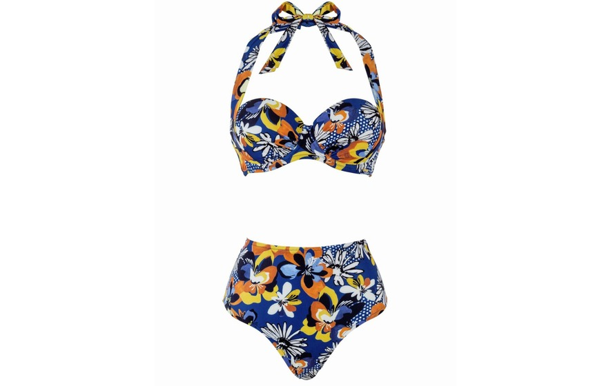 bee986691031a Boux Avenue Adelaide Sling Bikini Top, £30; High-waisted Bikini Briefs, £18