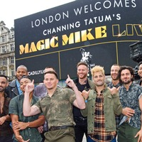 Channing Tatum in Piccadilly Circus takeover after surprise appearance on BGT