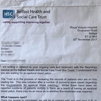 Leaked NHS memo reveals the treatment that sparked neurology probe