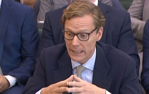 Boss at centre of data row tells MPs he has been 'victimised'