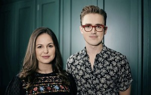 Tom and Giovanna Fletcher on their first co-written novel