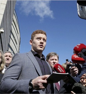 Video: Paddy Jackson says 'bonjour' to French side Perpignan