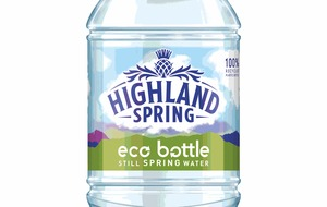Highland Spring to trial 100% recycled plastic bottle