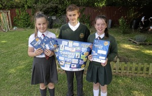Pupils `tern' their attention to Antrim coast's natural treasures