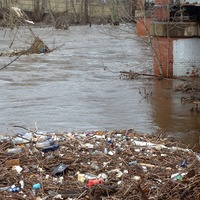 Microplastics more prevalent downstream of treatment plants, research finds