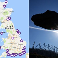 This interactive map will show you the UK's best spots for finding fossils