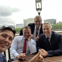 Arron Banks walks out of select committee for lunch with MPs Paisley and Wilson