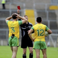 Donegal to appeal Neil McGee's red card against Down