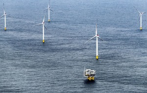 Huge wind farm opens off North Sea coast