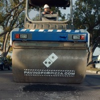 Domino's is filling in potholes in the US to 'protect pizza'