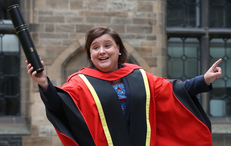 Strictly star Susan Calman collects honorary degree from ...