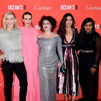 In Pictures: Hollywood royalty in London for Ocean's 8 premiere