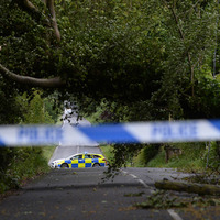 Storm Hector: Thousands of homes left without power