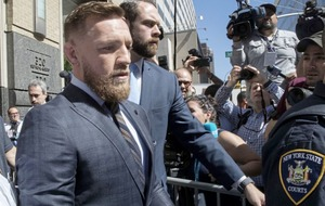 Fight star McGregor tells of regret over New York melee