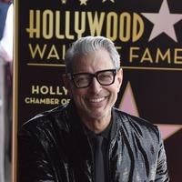 'Wonderful' Jeff Goldblum praised as he accepts Walk Of Fame star