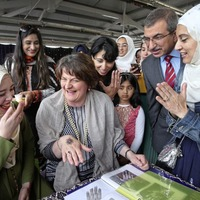 DUP leader attends Belfast event marking the end of Muslim holy month