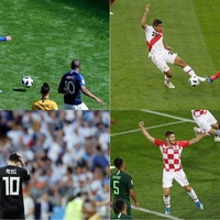 How did everybody cope with the World Cup's mammoth four-game Saturday?