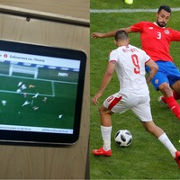 The Moscow Metro is showing World Cup games on the underground and it's brilliant