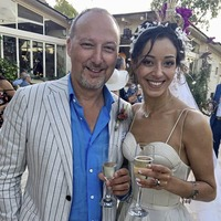 Singer Peter Corry weds in Italy