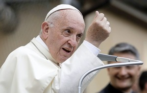 Pope's 'Nazi' abortion remarks spark controversy ahead of Irish visit