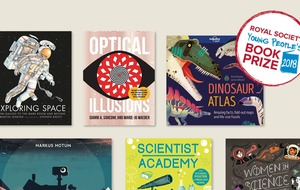 Female scientists and dinosaurs feature on young people's book prize shortlist