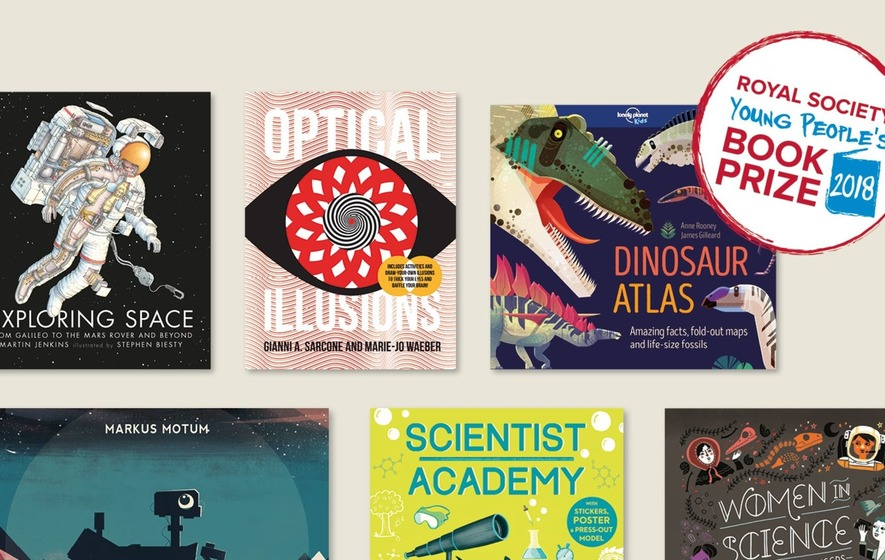Female scientists and dinosaurs feature on young people's