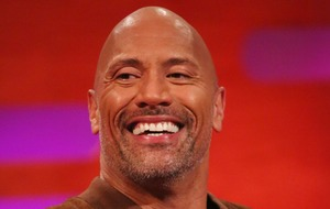 Dwayne Johnson jokes he has to 'catch up' with father-of-five James Van Der Beek