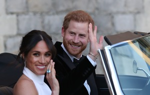 Meghan and Harry welcome a baby boy
