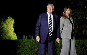 Melania Trump wades into her husband's controversial border policies