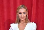 Shayne Ward surprises Catherine Tyldesley as she exits Corrie