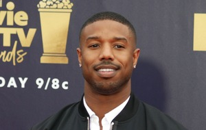 Michael B Jordan aims a dig at Roseanne Barr during the MTV Awards