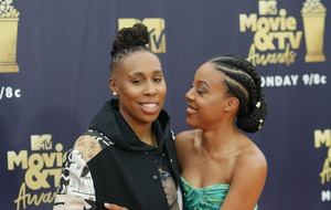 Lena Waithe honoured with the Trailblazer Award at MTV Awards