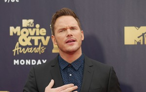 Chris Pratt offers fans life advice as he picks up his Generation Award from MTV
