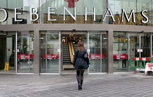 Debenhams shares plunge after third profit warning this year