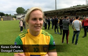 Video: Donegal captain Karen Guthrie hails 'fantastic' team after senior final win