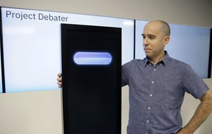 Man vs machine: IBM pits computer against human debaters