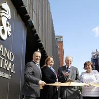 Belfast's new Grand Central Hotel opens its doors