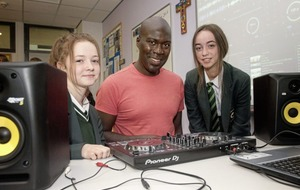 St Cecilia's hit the right beat at creative schools workshop