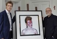 Rare Aladdin Sane photograph of David Bowie presented to V&A