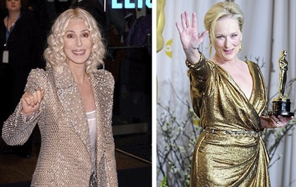 Sleb Safari: Cher and Meryl are the perfect James Bonds