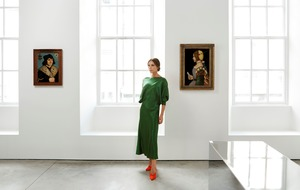 Victoria Beckham welcomes Old Masters at her London store